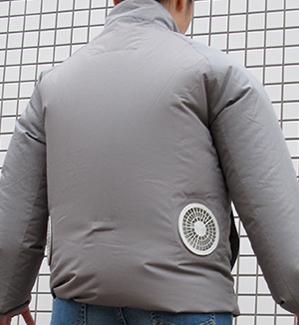 気になるユニフォーム シリーズ① ファン付きユニフォーム「空調服™」を着てみました!