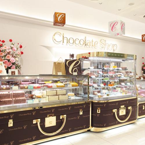 チョコレートショップ 博多の石畳